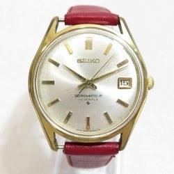 中古 セイコー セイコーマチック-R 30石 8305-8010 社外品ベルト 時計 腕時計 メンズ