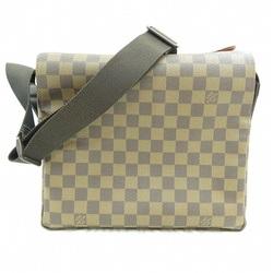 中古 ルイヴィトン Louis Vuitton ダミエ ナヴィグリオ N45255 エベヌ バッグ ショルダーバッグ ユニセックス